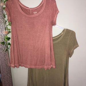 BUNDLE flowy shirts
